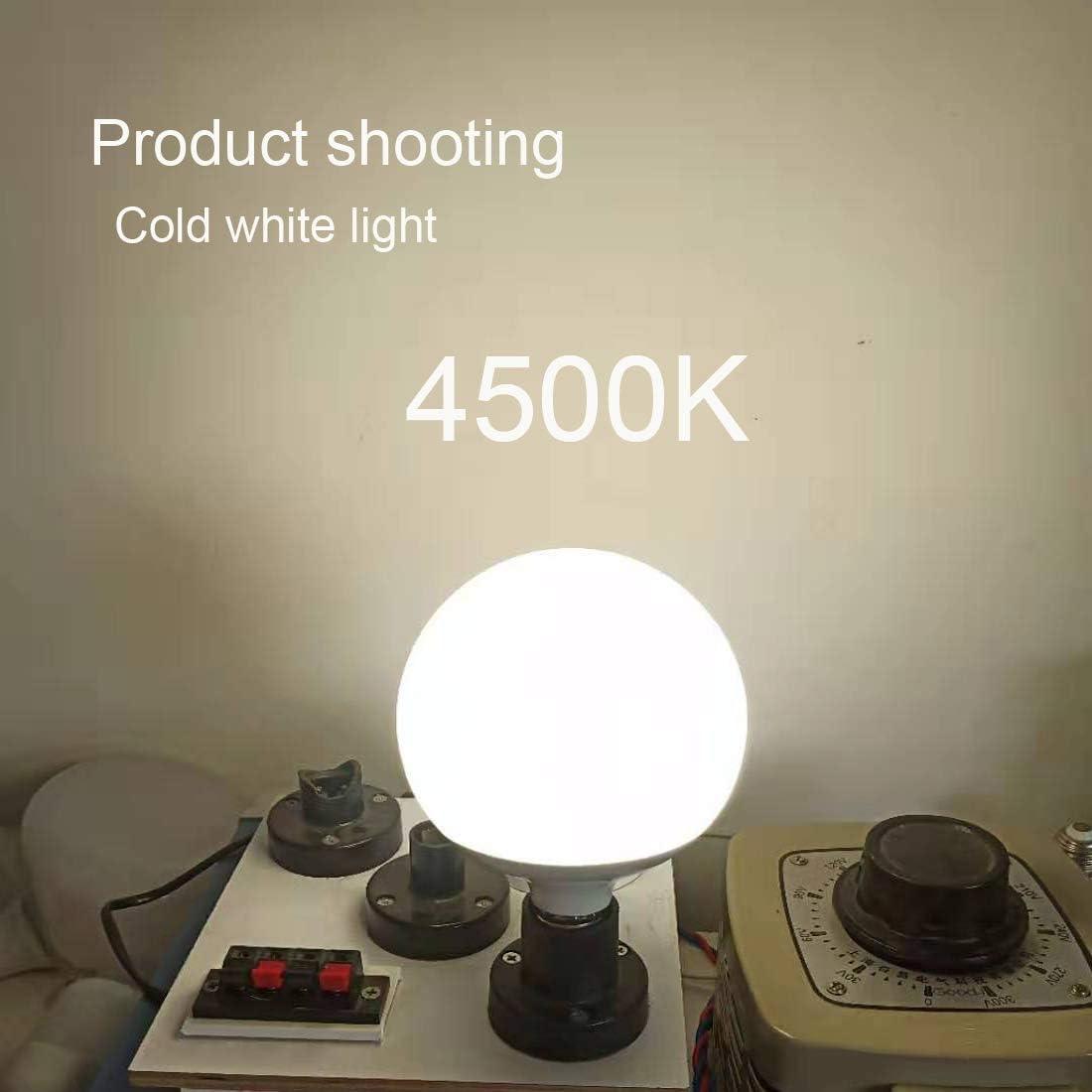 18W-3000K Warm White 18 Watt Globe Bulbs Not-Dimmable Equivalent Edison Bulb 100W-200W Screw Base E26