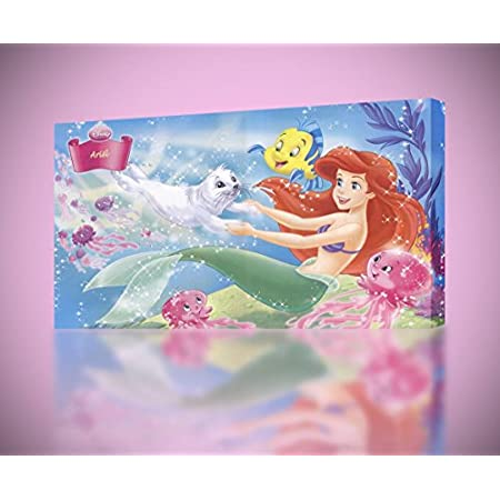 51B5PV3LLSL._SS450_ Mermaid Wall Art and Mermaid Wall Decor