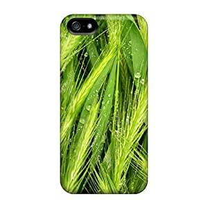 Fashion Protective Water Grass Case Cover For ipod touch5