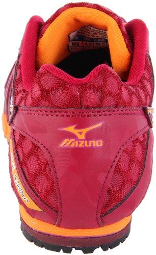 Mizuno Womens Wave Kizuna Scarpa Da Corsa Porta / Wild Aster-orange Peel