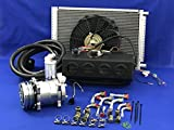 A/C KIT UNIVERSAL UNDERDASH EVAPORATOR COMPRESSOR 2A AIR CONDITIONER 432-000 12V