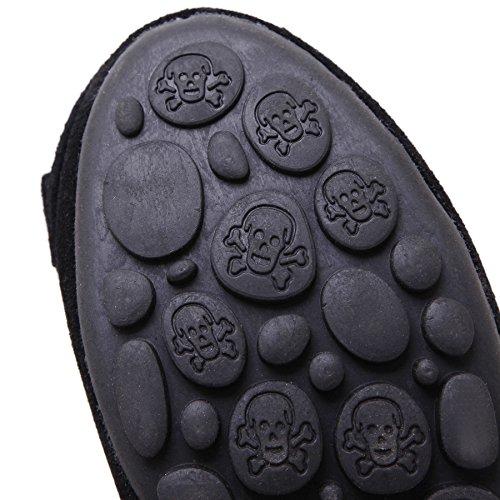 SmilunWbfj005 - Zapatillas de casa Mujer negro