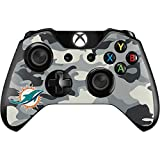 Skinit NFL Miami Dolphins Xbox One Controller Skin - Miami Dolphins Camo Design - Ultra Thin, Lightweight Vinyl Decal Protection