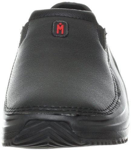 MOZO Men's Sharkz Slip Resistant Work Shoe,Black,10 M US