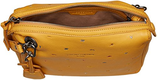 Berlin Amber Women's Crossbody Yellow Leather Liebeskind Arielle Embroidered d56xqdOw