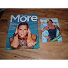 Dara Torres-Olympic Swimmer-Lot of 2 magazines: 2010 issue of Medizine's Healthy Living Magazine & April 2009 issue of More magazine.