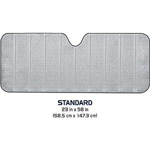 Max Reflector Standard Accordion Shade