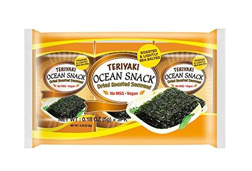 Ocean Snack Natural Teriyaki (non-vegan) Review