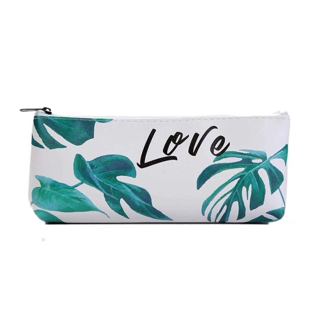 Amazon.com: 1pcs Kawaii Pencil Case Turtle Leaf Gift ...