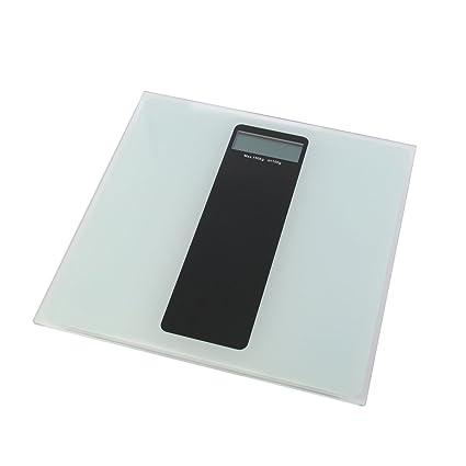 axentia Báscula Digital de – Báscula para Personas de Cuerpo de con Pantalla LCD de Peso