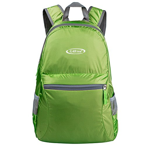G4Free Ultra Lightweight Packable Backpack Hiking Daypack,Handy Foldable Camping Outdoor -