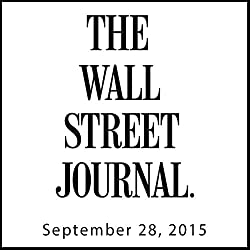 The Morning Read from The Wall Street Journal, September 28, 2015