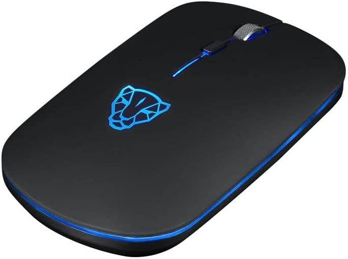 DP-iot HOT-Motospeed Bg60 Wireless Computer Bluetooth Led Mouse 6 Buttons 2400Dpi Optical Game Optical Mice for Laptop Pc