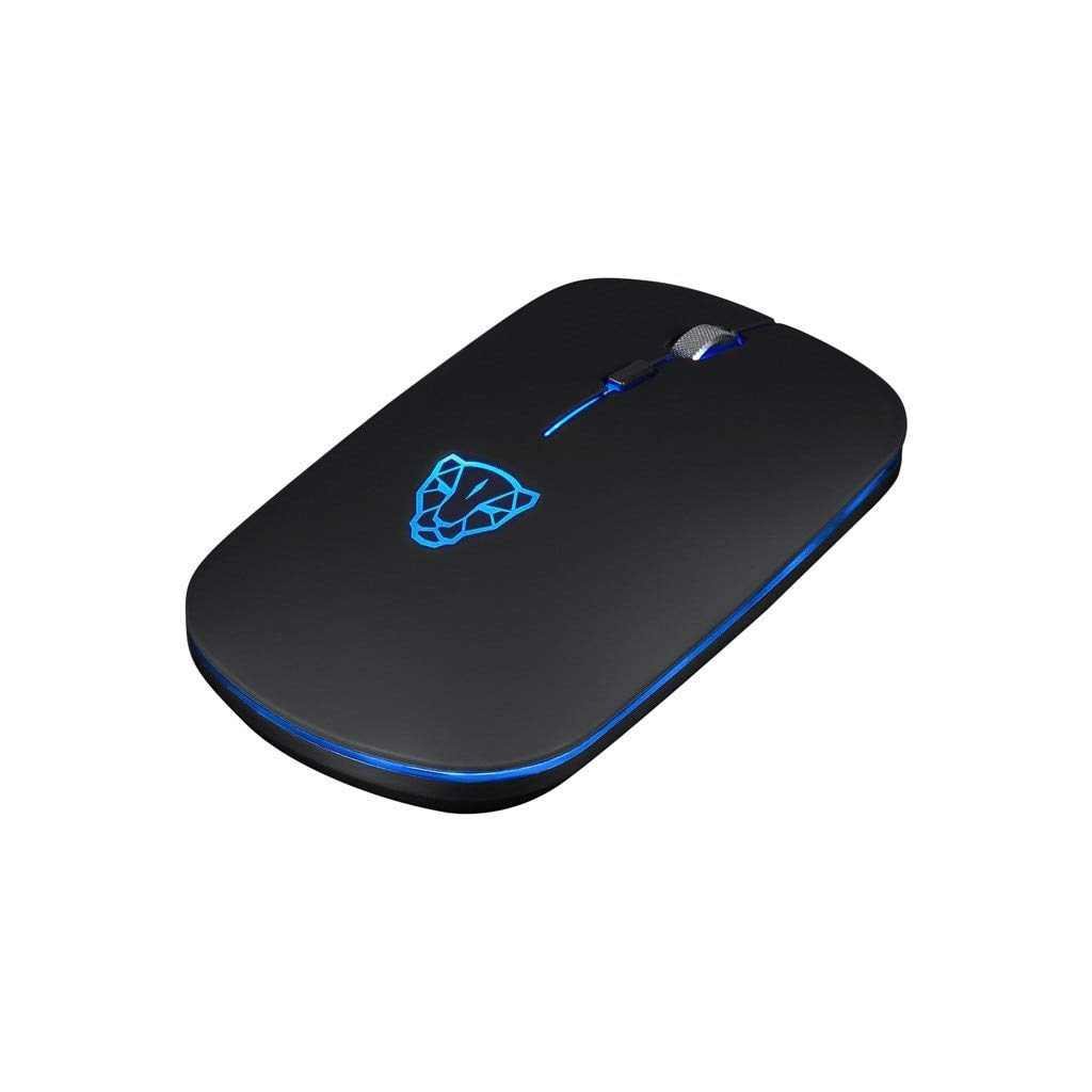 YOUKITTY Bg60 Wireless Computer Bluetooth Led Mouse 6 Buttons 2400Dpi Optical Game Optical Mice for Laptop Pc