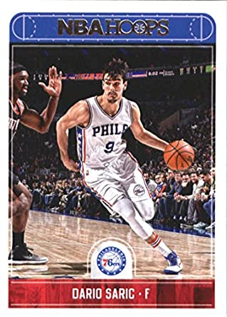 93303c1558c Amazon.com  2017-18 Panini Hoops  3 Dario Saric Philadelphia 76ers  Basketball Card  Collectibles   Fine Art