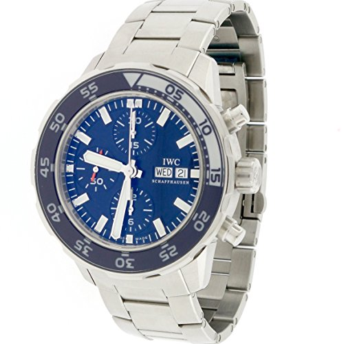 IWC-Aquatimer-Chronograph-Day-Date-Blue-Dial-Automatic-Steel-44MM-Watch-IW376711