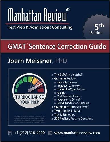 The Powerscore Gmat Sentence Correction Bible Pdf