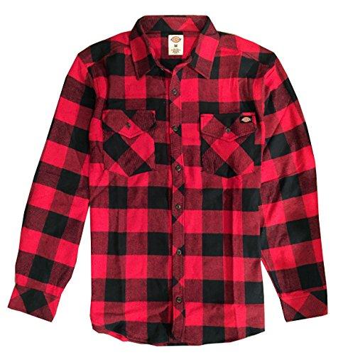 Dickies Men's Brawny Flannel (XLarge)