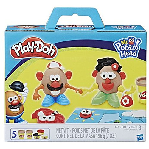 Play-Doh Mr. & Mrs. Potato Head 14 Piece Activity Set With Play Mat