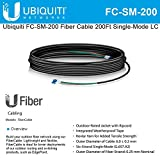 Ubiquiti FC-SM-200 Fiber Cable 200Ft Single-Mode LC ideal for installs outdoor