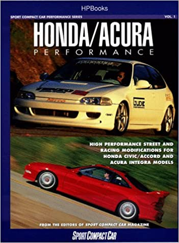 Honda Acura Performance Sport Compact Car Editors 0075478003242