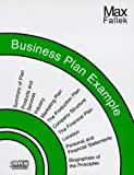 A Business Plan Example, Max Fallek, 0939069628