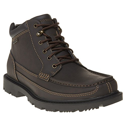 ROCKPORT Redemption Road Moc Toe Mens Boots Brown (Rockport Moc Toe)