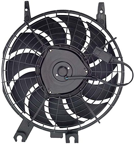 - AC A/C Condenser Cooling Fan Assembly Replacement for Toyota Corolla Geo Prizm 88590-12270 AutoAndArt