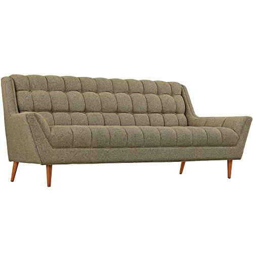 Modern Contemporary Fabric Sofa , Beige, Fabric