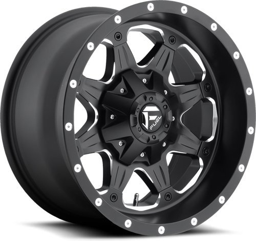(20x9 Fuel Offroad Wheels Boost D534 5x114.3 / 5x127-12 Offset 78.1 Centerbore - Black/Milled   P# D53420902645   WHEELS ONLY   NEW   AUTHORIZED DEALER )