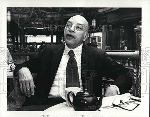 1981 Press Photo William Latimer, Elizabeth Faulk Professor and Chair - 8 x 10.25 in. - Historic Images