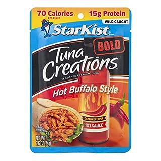 StarKist Tuna Creations BOLD  Hot Buffalo Style - 2.6 oz Pouch (Pack of 12)