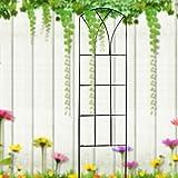 Metal Garden Plant Trellis Panel,2 Pack 35-Inch