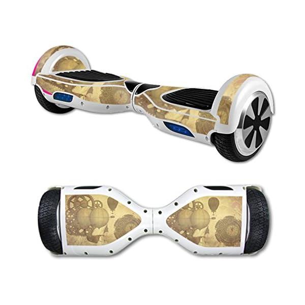 MightySkins Skin Compatible with Hover Board Self Balancing Scooter Mini 2 Wheel x1 Razor wrap Cover Sticker Steam Punk… 3