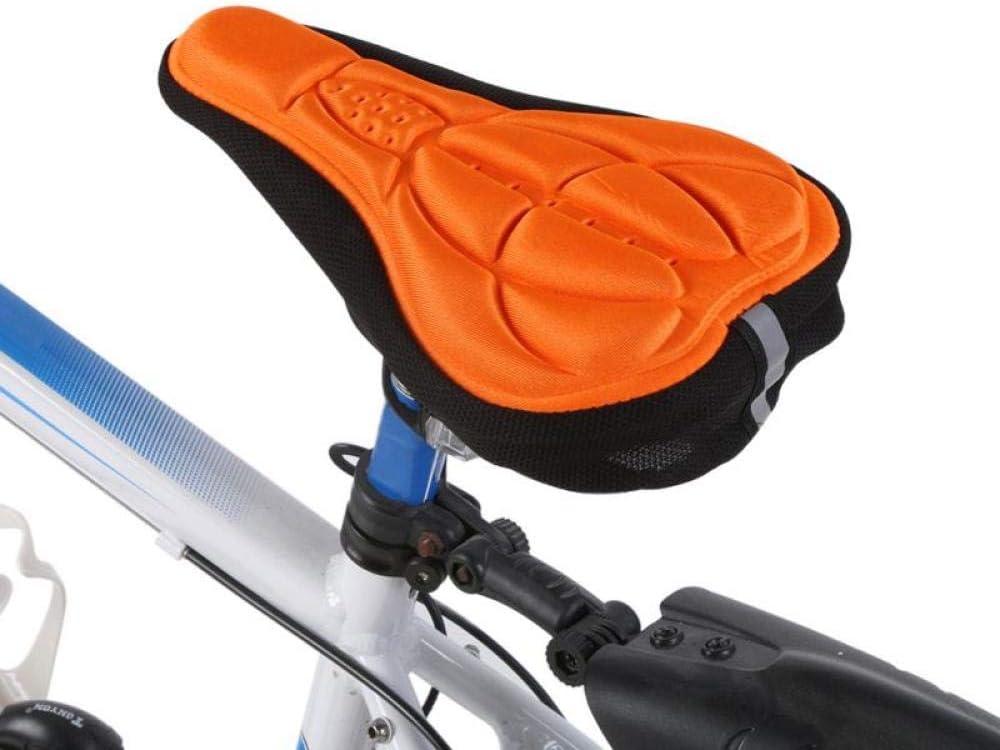 Cubierta de Asiento de Bicicleta Gel Sillín de Bicicleta Cojín ...