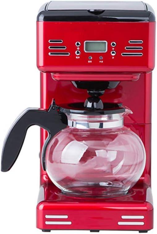 MXZBHDCafetera de Filtro Retro, máquina de café programable de 12 Tazas cafetera de Goteo de Metal Rojo: Amazon.es: Productos para mascotas