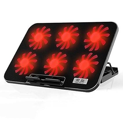 SJMMZJ Laptop Ordenador Portatil Refrigeracion Radiador De Apoyo De La Base,Negro/A,