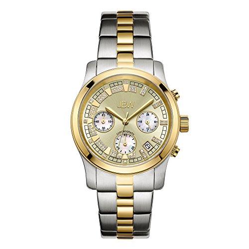 JBW Luxury Women s Alessandra Diamond Wrist Watch with Stainless Steel Bracelet
