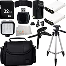 Ultimate Accessory Kit for SONY Cyber-Shot DSC-H200, H300, H400, H90, HX200V, HX300, HX30V, HX400V, HX50V, HX90V, NEX3N, NEX5R, NEX5T, NEX6, QX10, QX100, QX30, RX1, RX10, RX10 II, RX100, RX100 II, RX100 III, RX100 IV, RX1R, WX500
