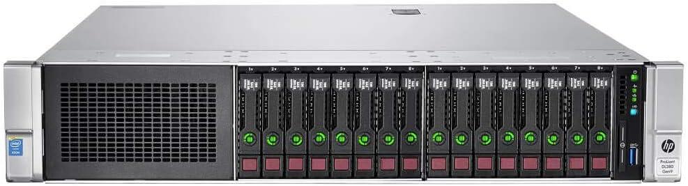Renewed HP Proliant DL380 Gen9 16B SFF 2X E5-2670v3 Twelve Core 2.3Ghz 192GB 16x 1TB P440 4GB FBWC