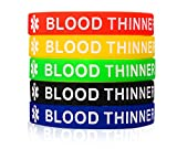 MPRAINBOW MP 5 Pcs Silicone Rubber BLOOD THINNER