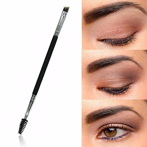 1 X Tool Double Handle Makeup Eyebrow Comb Eyebrow Brush - 3