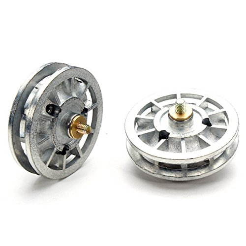 Quickbuying Heng Long Metal Idler Wheel For 1/16 German Tiger Tank 3818 Bearing RC Tank Part