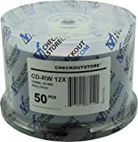 CheckOutStore 100 CD-RW 12X 80Min/700MB Shiny Silver