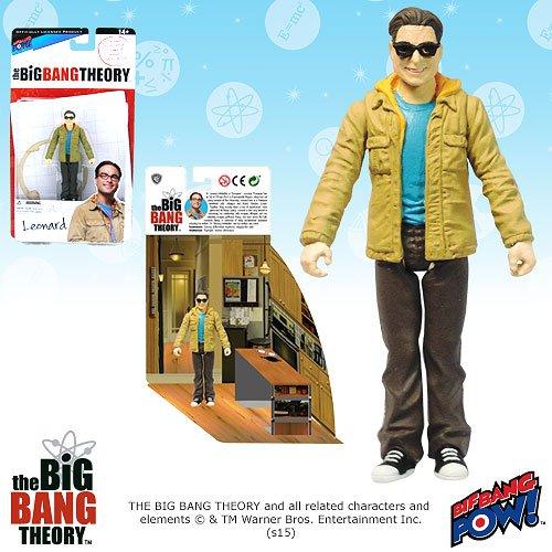 The Big Bang Theory Leonard 3 3/4-Inch Figure Series 1