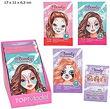 Top Model- Mascarilla Facial De Tela (010741): Amazon.es: Juguetes ...