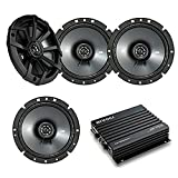 Best Kicker Sound Quality Speakers - Car Speaker With Amplifier Set - 4 Kicker Review
