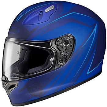 HJC FG-17 Thrust Full-Face Motorcycle Helmet (MC-2F, Large)