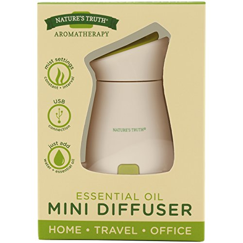 Nature's Truth Essential Oil Mini Diffuser, 3.7 Ounce