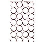 CHUANGLI 28 Hole Ring Rope Slots Holder Hook Scarf Wraps Shawl Storage Holder